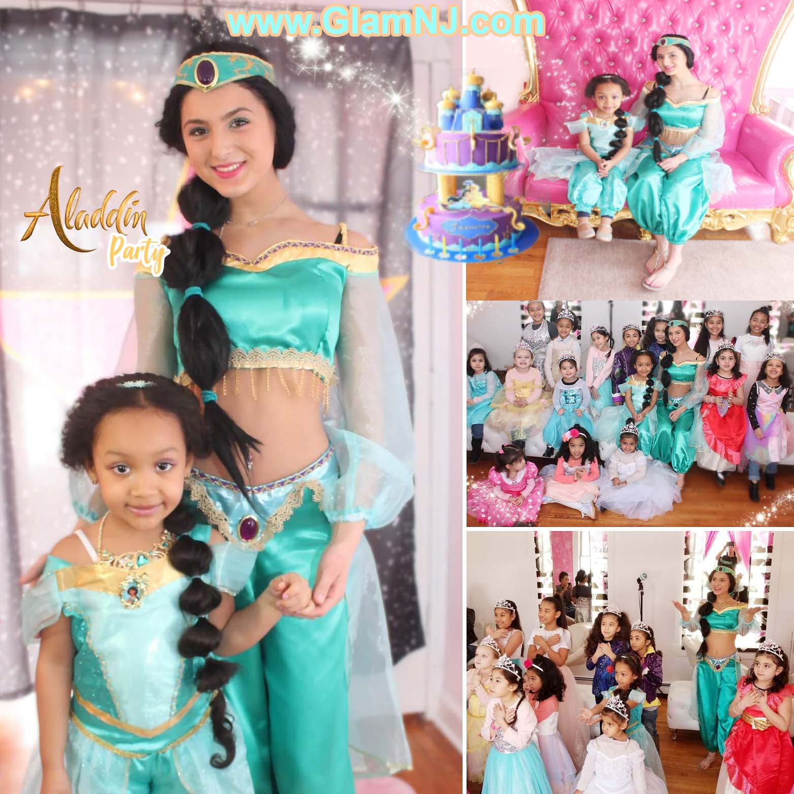 Aladdin Princess Birthday Party