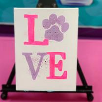 Puppy Love Painting Art
