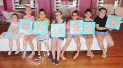 Beach Starfish Painting Art