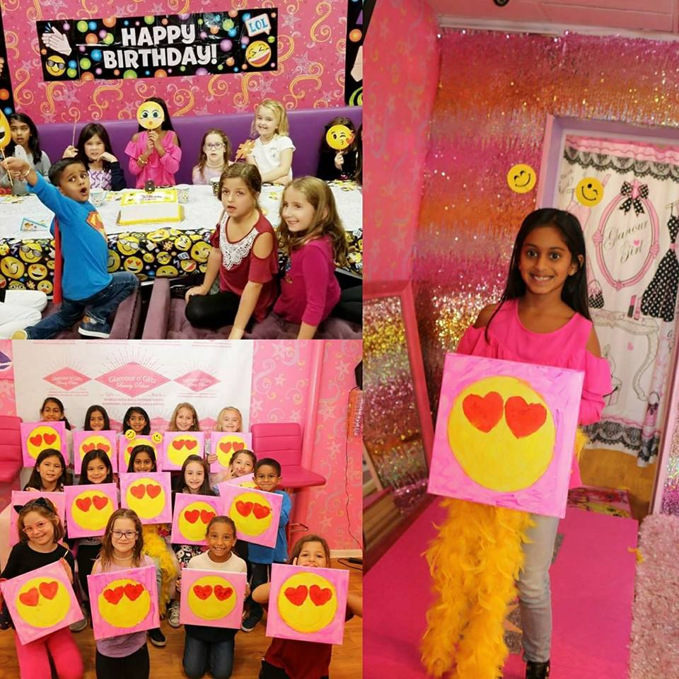 Emoji Painting Birthday Party