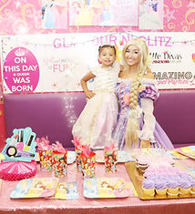 Princess Birthday Party at Glamour n Glitz