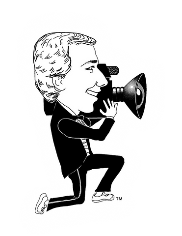 The Video Man Productions Caricature Logo