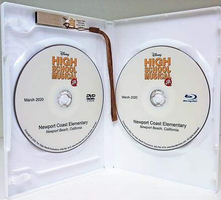NEWPORT COAST DISC SET SAMPLE WHITE CASE