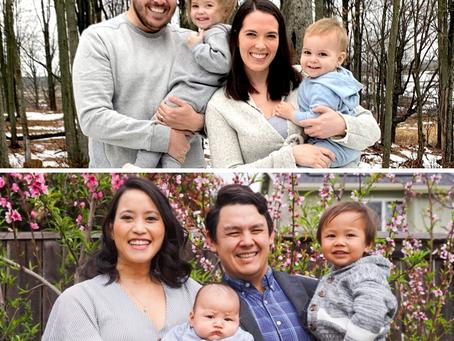 Parent Spotlight-Dr. Colleen Russo Johnson & Travis Chen