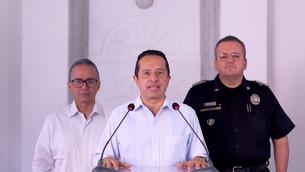 Listo Carlos Joaquín para su Tercer Informe: tres años de violencia, corrupción, abusos policiacos,