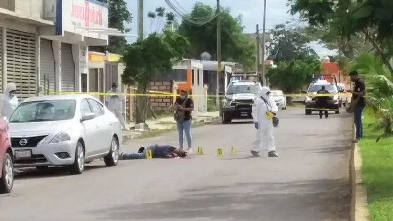Ejecutan en Chetumal a ex-policía cuando circulaba en su motocicleta