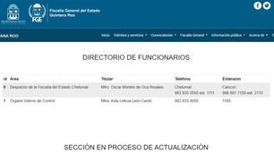 Diputados títeres de Carlos Joaquín; otra vez no dejaron comparecer al corrupto fiscal Oscar Montes