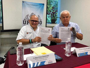 Acuerdan trabajar de la mano Instituto de la Cultura y Las Artes y la Universidad Politécnica