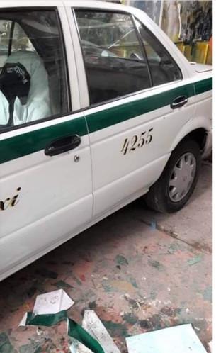 """Se roban de la """"Gran Plaza"""" taxi 4255"""