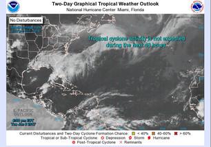 Amenaza onda tropical con fuertes lluvias para Quintana Roo