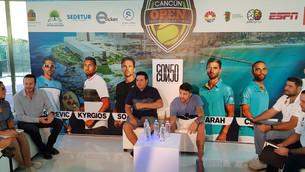 """Listos tenistas profesionales para """"Cancún Open Tennis"""""""