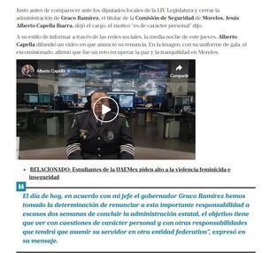 """Un fracaso llegada de Capella Ibarra a Quintana Roo; se dedicó """"al Circo"""" del gobierno; su protector"""