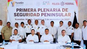 Quintana Roo participa en Primera Plenaria de Seguridad Peninsular