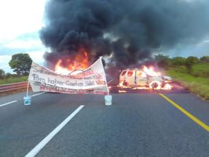 En alerta autoridades por bloqueo en carreteras por la delincuencia; retan a la Guardia Nacional