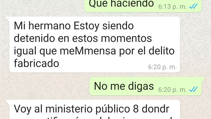 Otra más del gobierno panista represor; ahora le toco al periodista Héctor Valdez. ¿Cuántos más sigu
