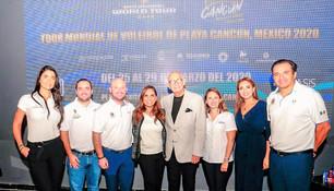 """Brillará Cancún a nivel internacional; será sede del """"Tour mundial de voleibol de playa"""""""