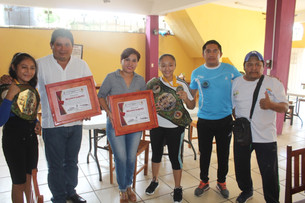 Resalta el boxeo en el municipio; Mena Villanueva apoya a las deportistas