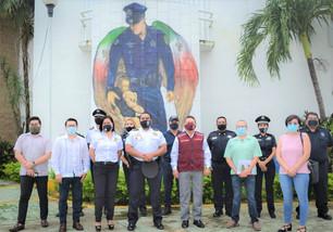 Promueve el gobierno municipal nuevo modelo Nacional de Policía y Justicia Cívica