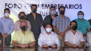 Sector empresarial se une al proyecto de Víctor Mas