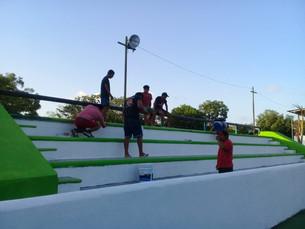 Rehabilita gobierno municipal espacios deportivos