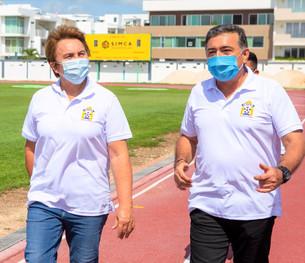 Promueve más deporte Laura Beristain en Puerto Aventuras