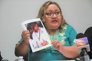 """Rencor y odio de fiscal """"Lupe"""" Reyes Pinzón contra hombres; sin pruebas encarcela a otra víctima; su"""