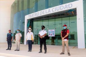 """Teatro de la Ciudad """"Leona Vicario"""" reabre sus puertas bajo protocolos"""
