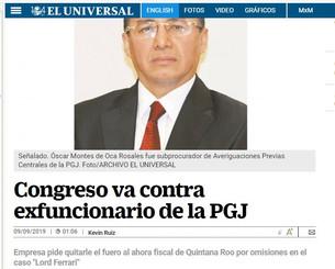 Fiscalía General de Quintana Roo única en el país en la que no aparecen sus directores. ¿Tendrán cue