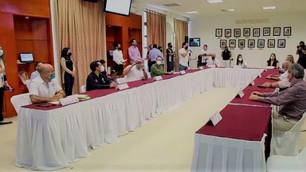 Se reúne Mara con empresarios para acordar la reactivación económica