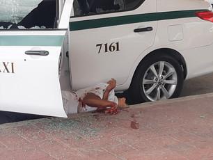 Sicarios gozan de impunidad en Quintana Roo; otro taxista baleado y la Policía pajareando