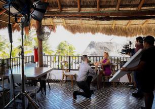 """""""Pueblo con Encanto"""" en la mira de los espectáculos por sus atracciones; filman videoclip"""