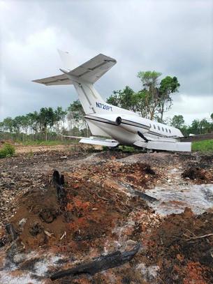 """Sur de Quintana Roo y Belice """"puerta"""" de narco aviones; nueve en este año; en llegada del general Vá"""