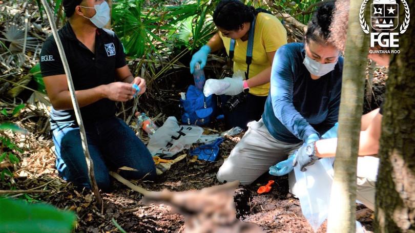 Siguen apareciendo restos de víctimas ejecutadas por el crimen organizado en Isla Blanca
