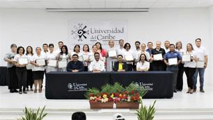 Celebra Unicaribe su XIX Aniversario y reconoce a sus colaboradores de años