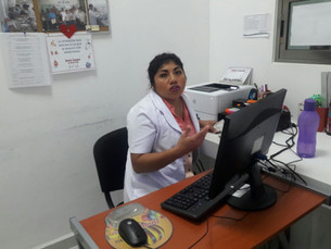 Empleada del Hospital General trata déspota a las personas