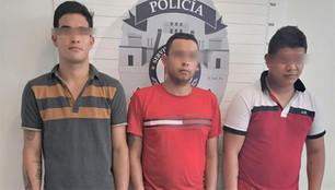 Atrapa la Policía a tres pistoleros; traían armas 9 milímetros