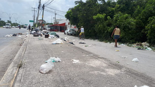 """""""SOS"""" a empresa recolectora de basura; López Portillo representa """"relleno sanitario"""""""