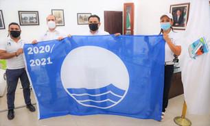 "Balneario frente a ""Ventana al Mar"" recibe distintivo ""Blue Flag"" por segundo año"