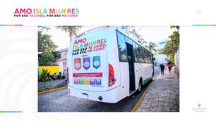 """Empresarios y gobierno municipal lanzan campaña """"Amo Isla Mujeres"""""""