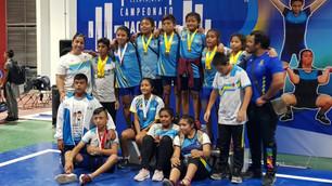 Resalta Quintana Roo en campeonato infantil de pesas; arrasa con 15 medallas de oro