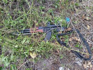 Localiza la Policía tres armas del crimen organizado luego de la balacera