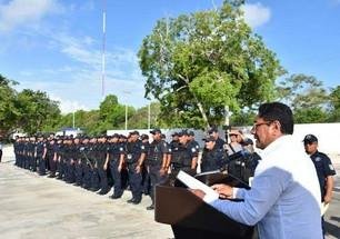 Recibirán policías municipales apoyo económico del Fortaseg