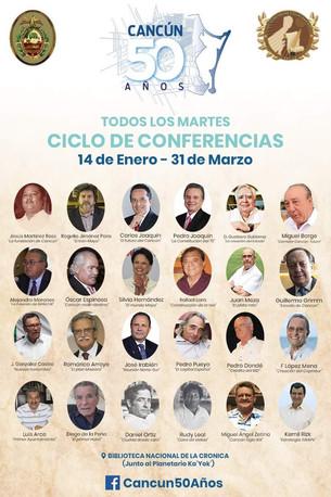 Protagonistas de Cancún expondrán su visión histórica; el reto, a 50 años de su fundación: crear ciu