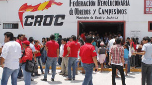 Aferrado a la presidencia municipal Mario Machuca; obliga la base trabajadora a entregar credencial