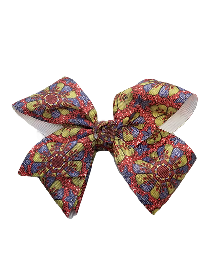 Boutique Bow Floral Pattern 2