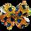Thumbnail: Pinwheel Bow Peacock Pattern