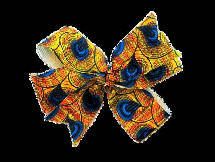 Pinwheel Bow Peacock Pattern