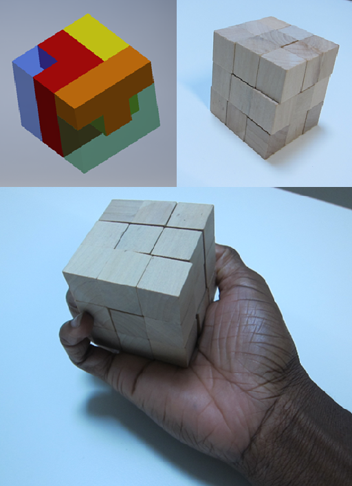 3D Interactive cube