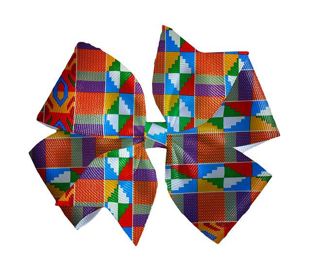 Pinwheel Bow Kente Pattern 2