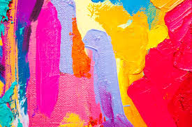 cuadro abstracto de niño